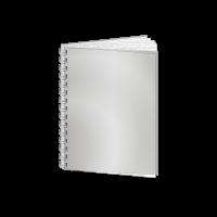 Abschlussarbeit | Metall-Spiralbindung | unbdrucktes Cover
