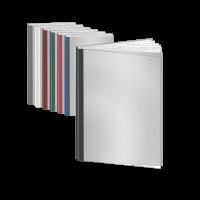 Abschlussarbeit   Fastback Bindung   bedrucktes Cover